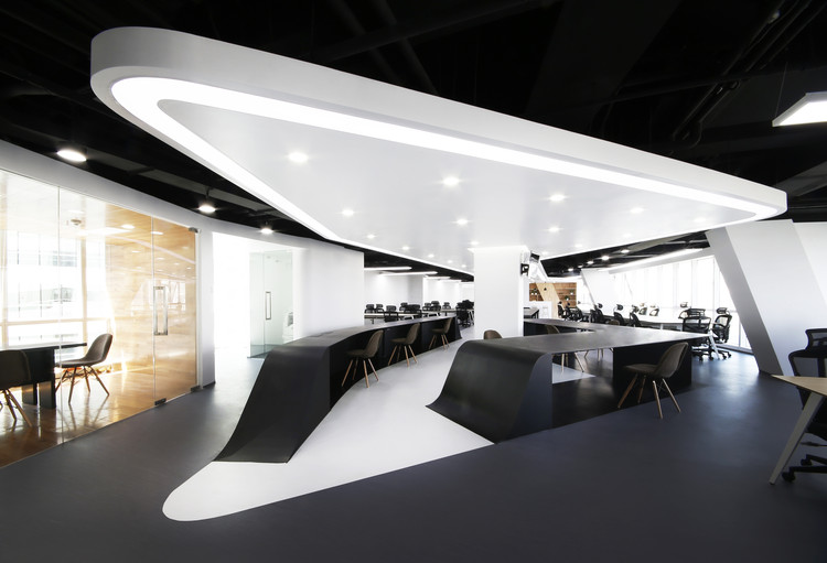 Puhui Office Design / hyperSity architects, Cortesía de hyperSity architects