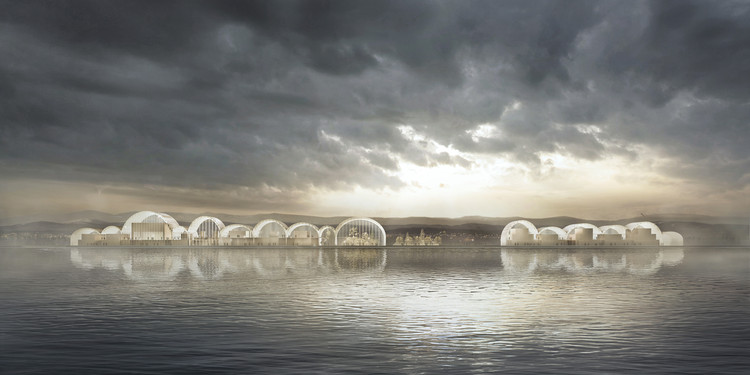 PRÁCTICA and Rodrigo Pérez de Arce Unveil Design for International Antarctic Center in Chile, Courtesy of PRÁCTICA