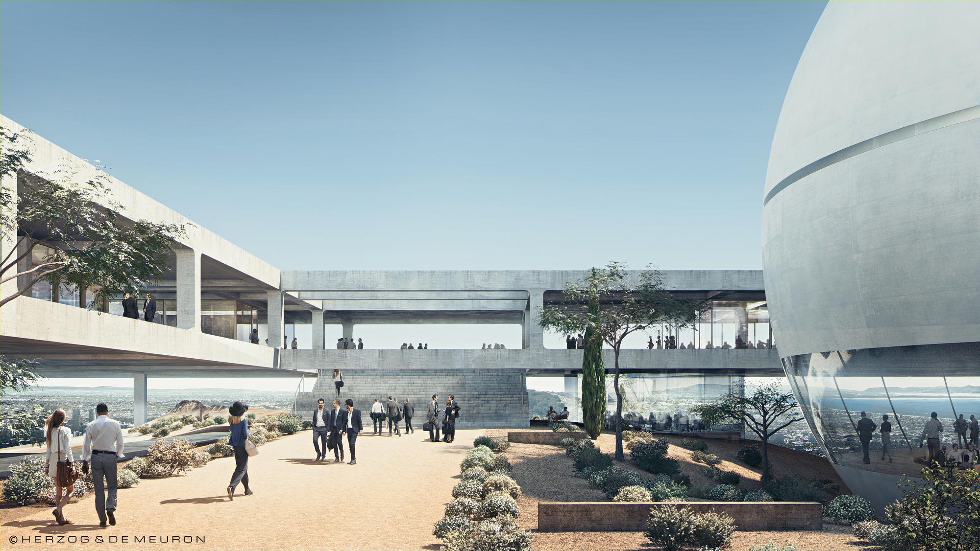 Herzog U0026 De Meuron Designs New Campus For Berggruen Institute In The Los  Angeles Hills,