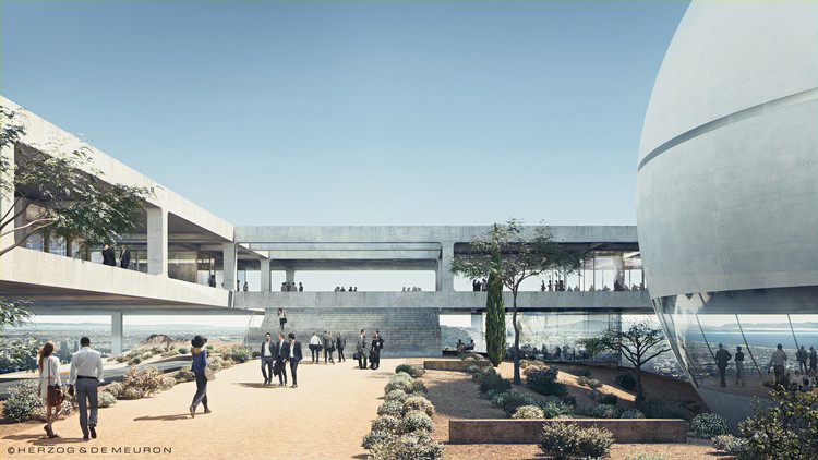 Herzog & de Meuron Designs New Campus for Berggruen Institute in the Los Angeles Hills, © Herzog & de Meuron