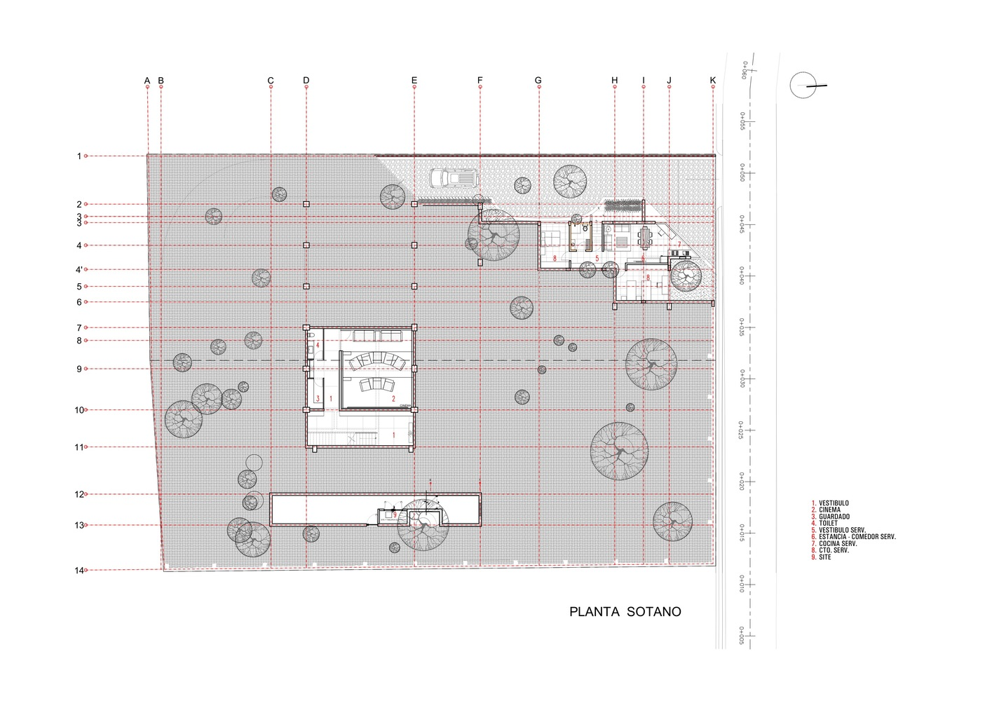 gallery of lake view house grupoarquitectura 20 lake view house basement plan