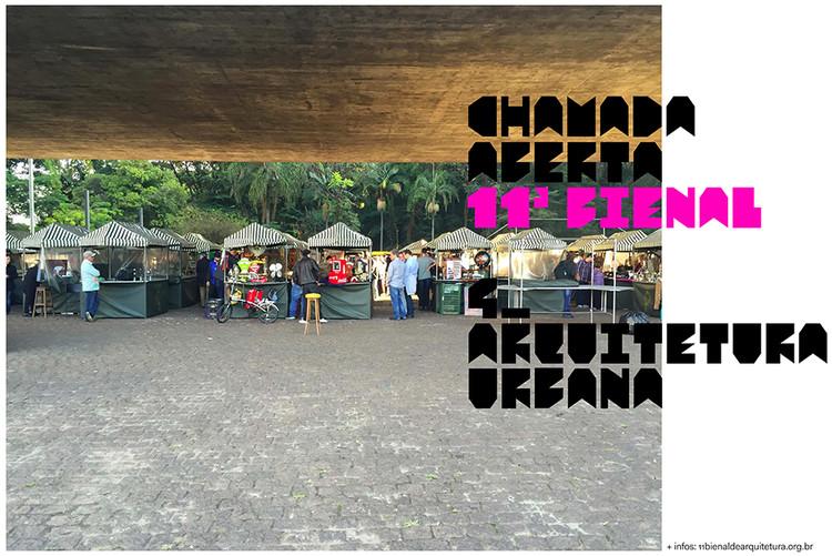 """11ª Bienal de Arquitetura de São Paulo lança a chamada """"Arquitetura Urbana"""", © 11ª Bienal de Arquitetura"""