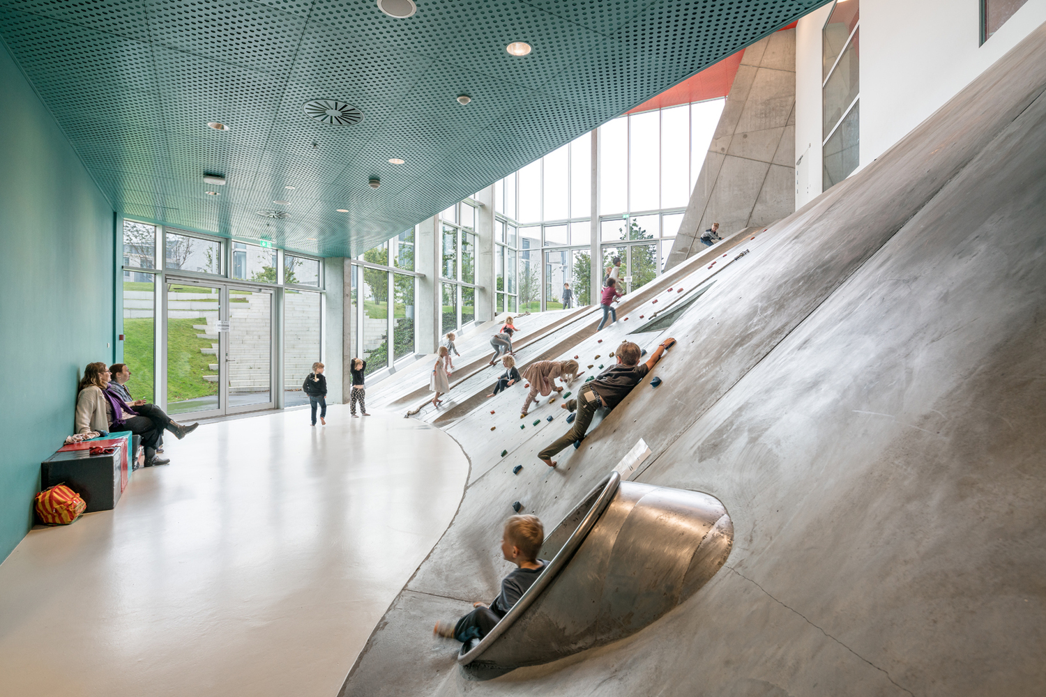 Gallery of MVRDV + ADEPT\'s Dynamic Ku.Be House of Culture in ...