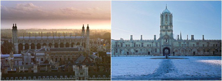 Cambridge To Oxford Connection: Ideas Competition Announces Shortlist, © Wikimedia Commons Users: Cambridge - Bob Tubbs, Oxford - Toby Ord (CC-BY-SA-2.5)
