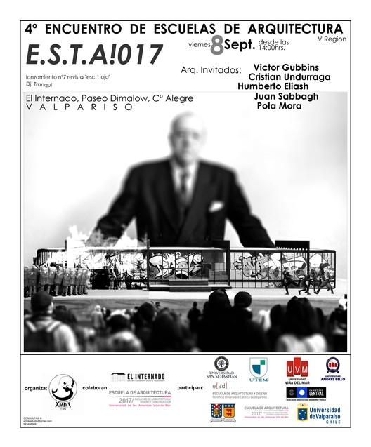 Encuentro de Escuelas de Arquitectura de la V Región, E.S.T.A!017