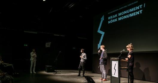 Curators of the Estonian Pavilion at the 2018 Venice Architecture Biennale. Image Courtesy of Estonian Architecture Centre