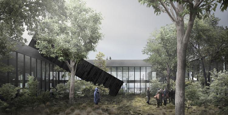 Segundo lugar del concurso del Centro Antártico Internacional en Chile / Albert Tidy Arquitectos, Cortesía de Albert Tidy Arquitectos