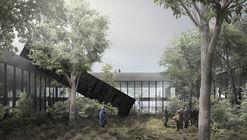 Segundo lugar del concurso del Centro Antártico Internacional en Chile / Albert Tidy Arquitectos