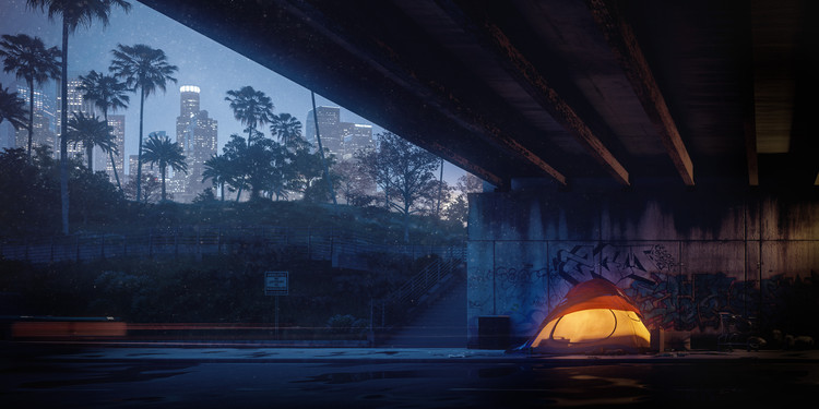 Illustrating Homeless Architecture