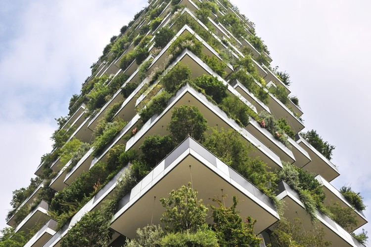 This Towering Residential Forest Could Offer a Solution to Urban Air Pollution, Courtesy of Paolo Rosselli