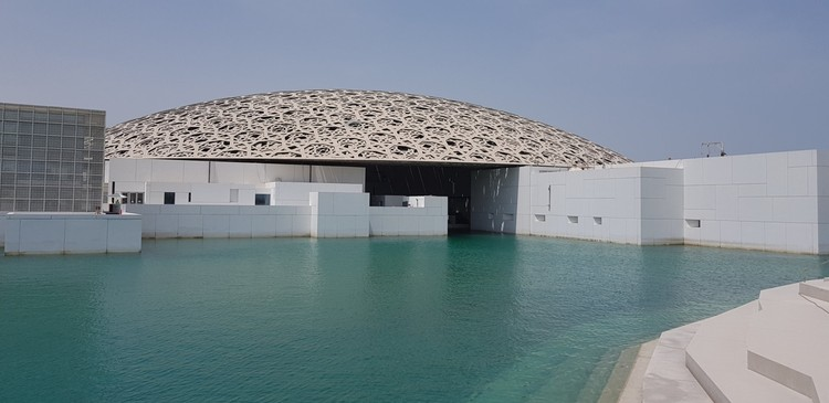 A Sneak Peek into Jean Nouvel's Louvre Abu Dhabi as It Prepares for Fall Opening, via Twitter user Ludovic Pouille