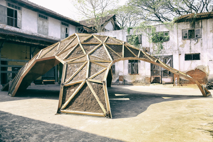 This Pavillion Lives and Dies Through Its Sustainable Agenda, © Krishna & Govind Raja