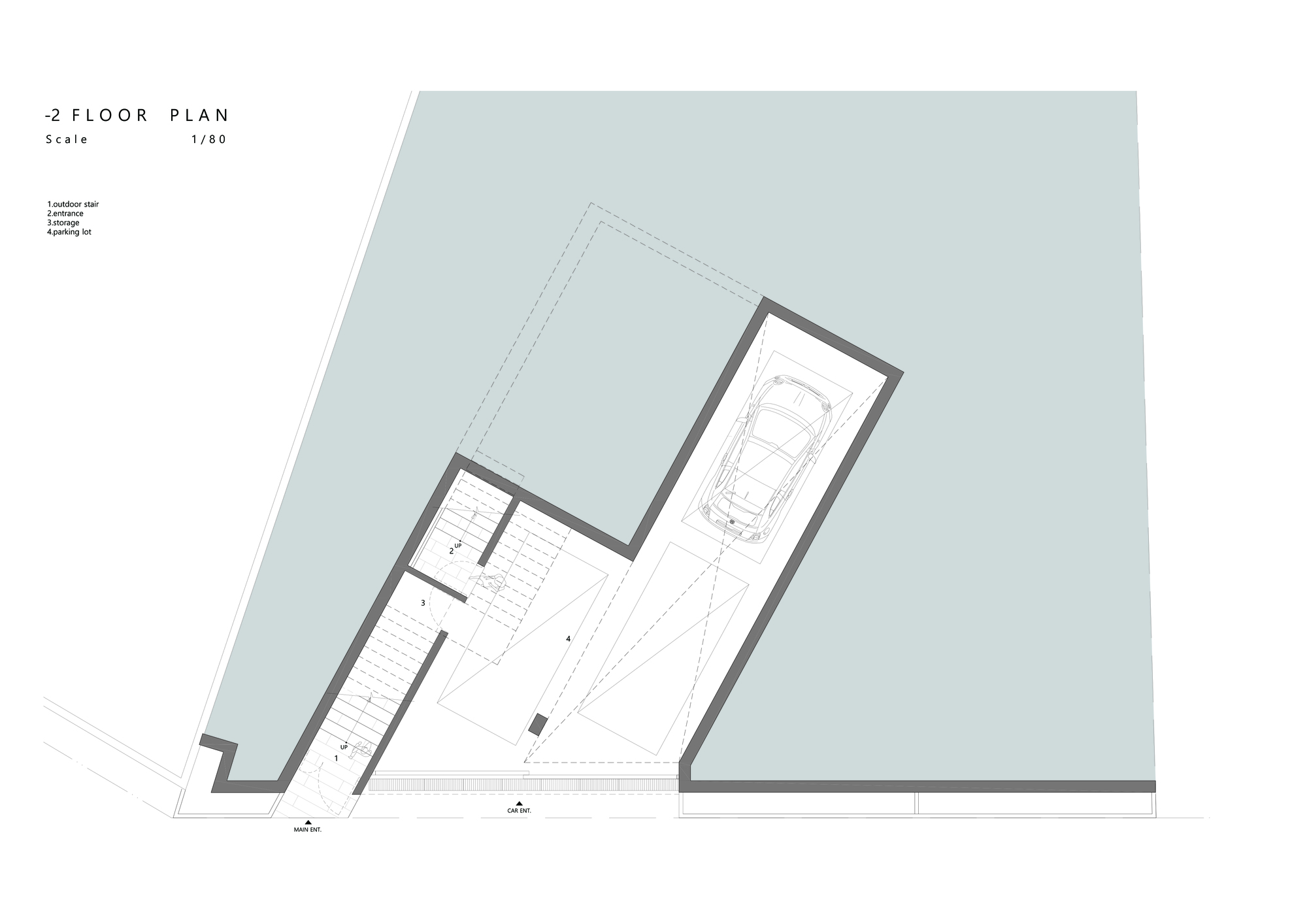 Gallery Of Butterfly House HH Architects - Floor plan for house 2