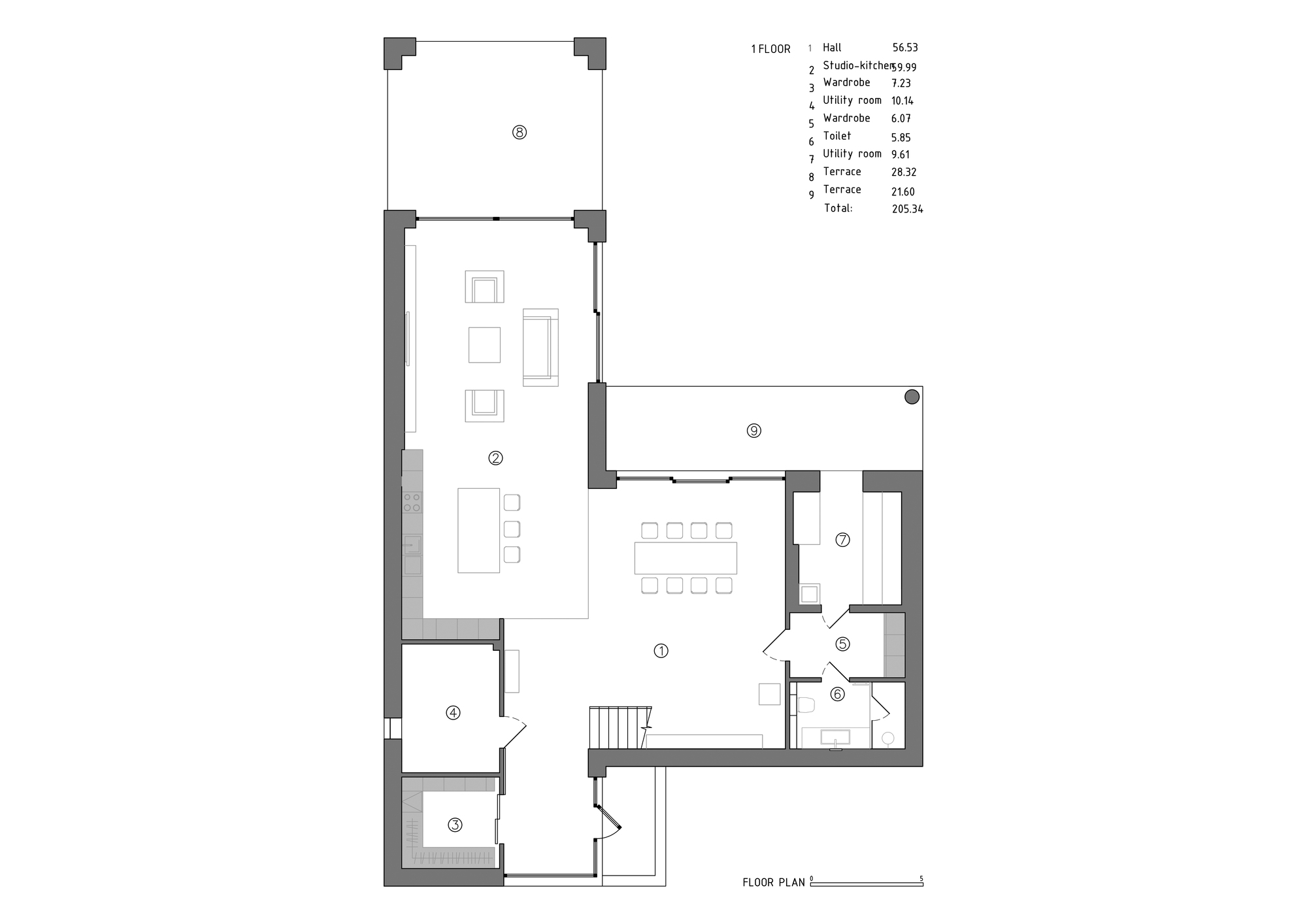Gallery Of Wh Residence M3 Architects 22