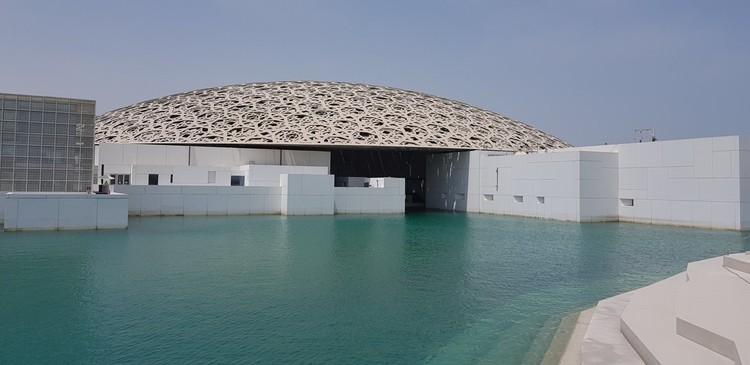 Imagens do Louvre Abu Dhabi de Jean Nouvel prestes a ser inaugurado, via Twitter user Ludovic Pouille