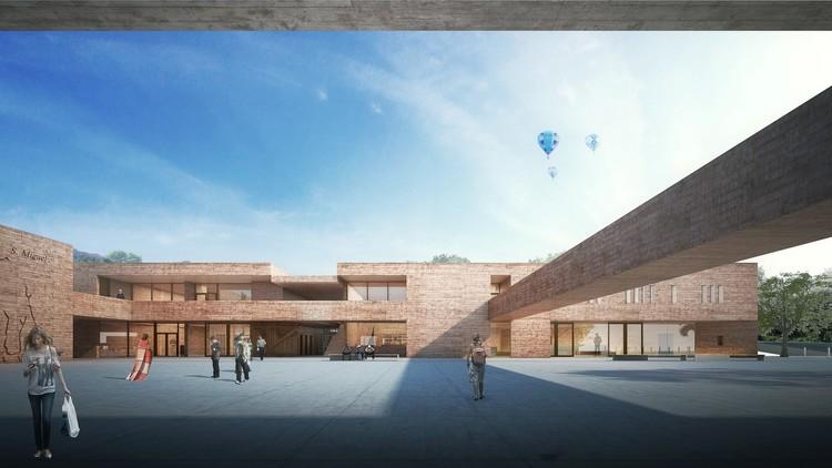 Da Igreja para os campos de fora: considerações gerais para o projeto de um novo museu para as Missões / Brasil Arquitetura, © Brasil Arquitetura