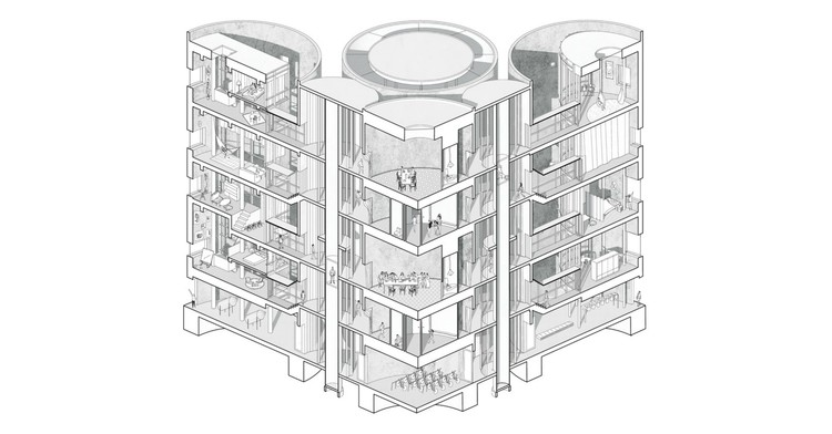 Architectural drawings tag archdaily for Printing architectural drawings