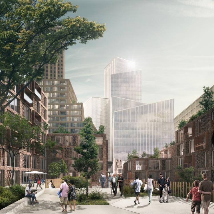 Schmidt Hammer Lassen divulga projeto icônico para Detroit, Cortesia de Schmidt Hammer Lassen Architects