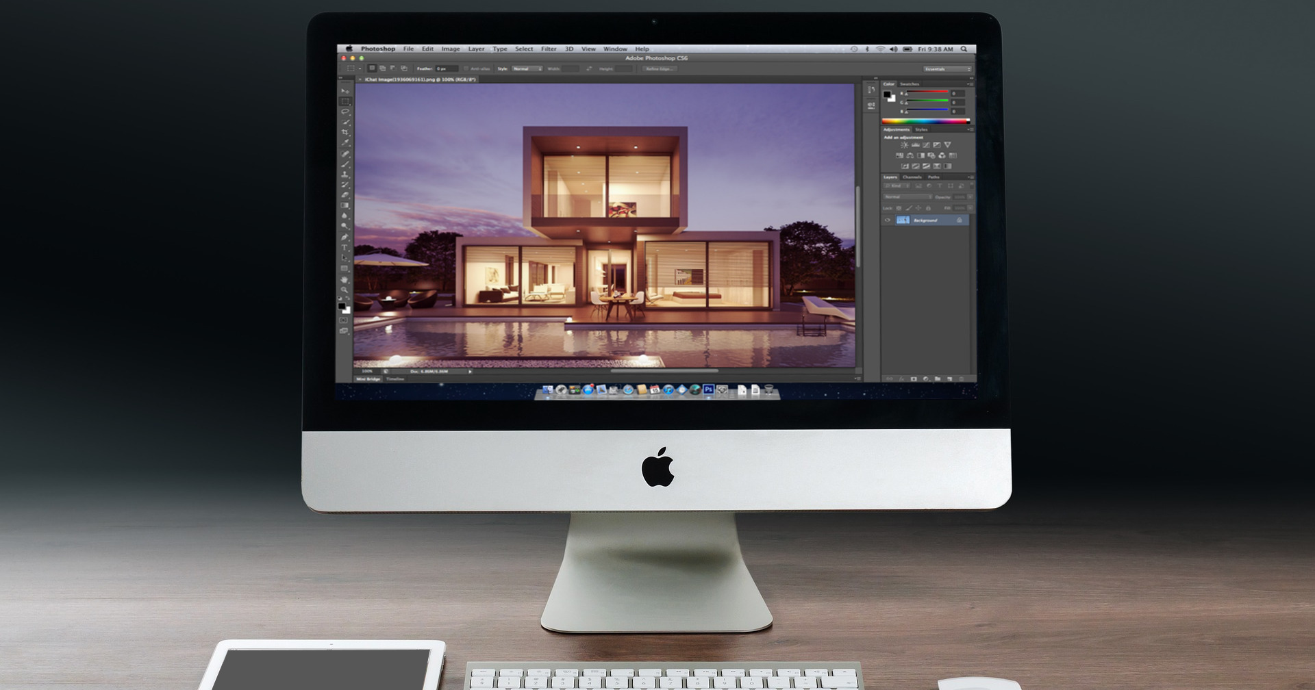 9 tips importantes de Photoshop para arquitectos