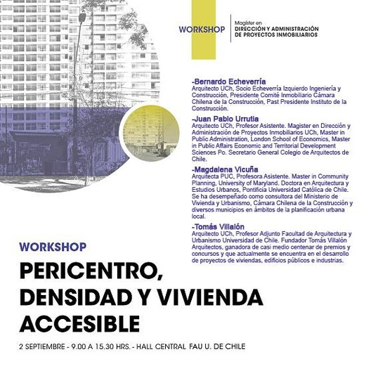 Workshop 'Pericentro, densidad y vivienda accesible'