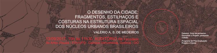 O desenho da cidade: fragmentos, estilhaços e costuras na estrutura espacial dos núcleos urbanos brasileiros, Cortesia de Ângelica Carvalho Bandeira