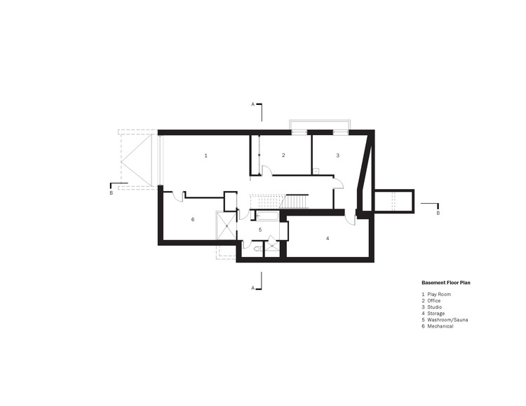 Simple Basement Floor Plan