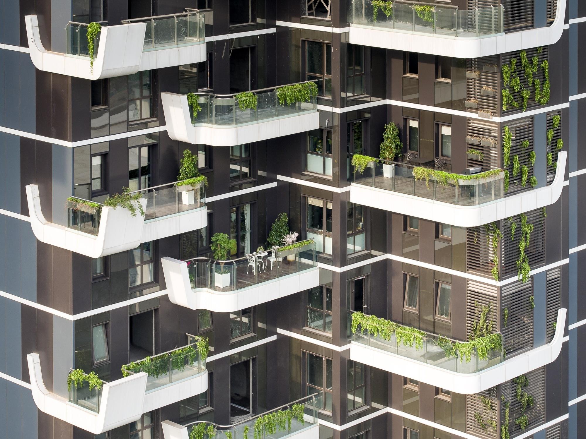 Hanhai luxury condominiums amphibianarc archdaily for Design hotel road