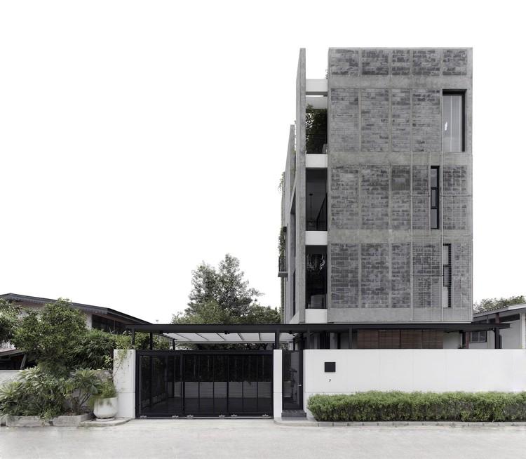 Edificio Huamark09 / INchan atelier, © Peerapat Wimolrungkarat