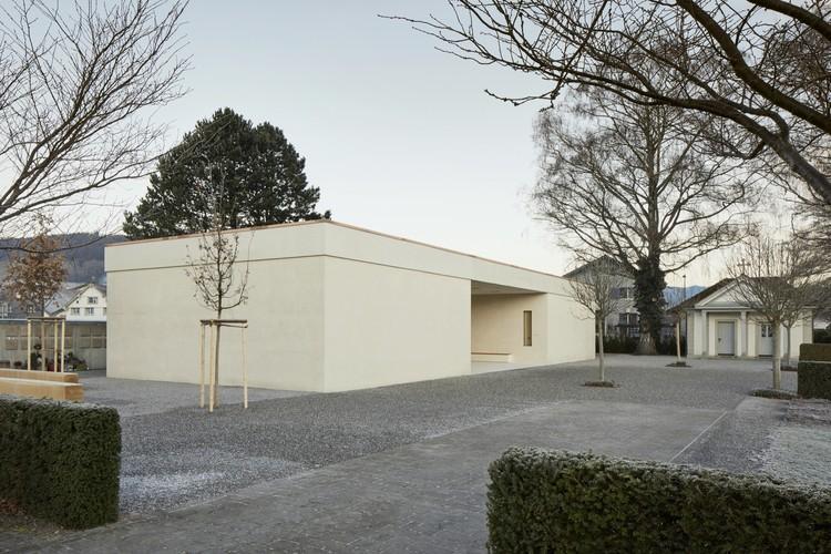 Cementerio Oberriet / Tom Munz Arquitecto, © Ladina Bischof