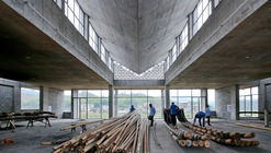 Wuyishan Bamboo Raft Factory / TAO - Trace Architecture Office