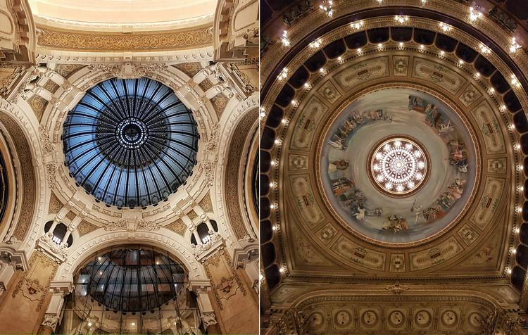 Cúpulas, vitrales y lámparas de Buenos Aires, por Leandro Grovas, Galería General Güemes - Teatro Colón. Image © Leandro Grovas