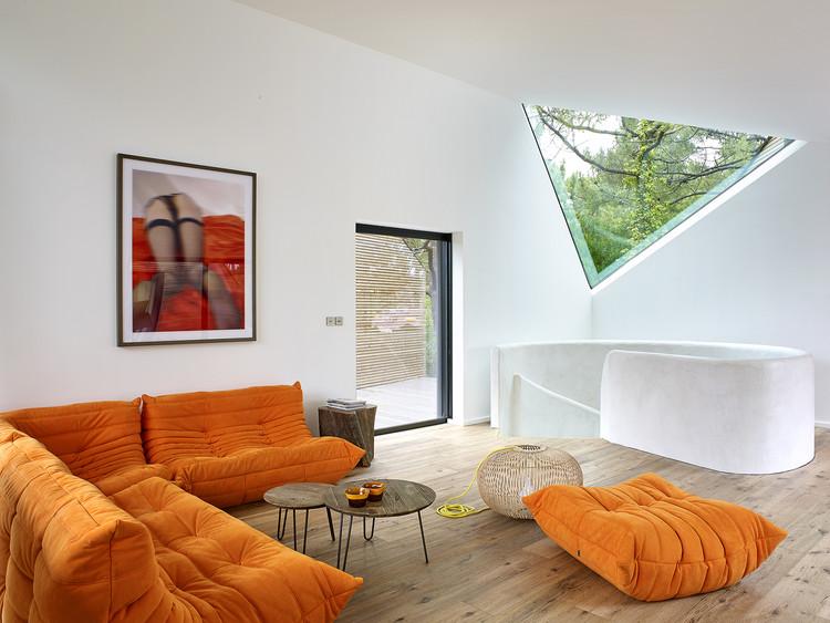 casa de vacaciones en cap ferret atelier du pont plataforma arquitectura. Black Bedroom Furniture Sets. Home Design Ideas