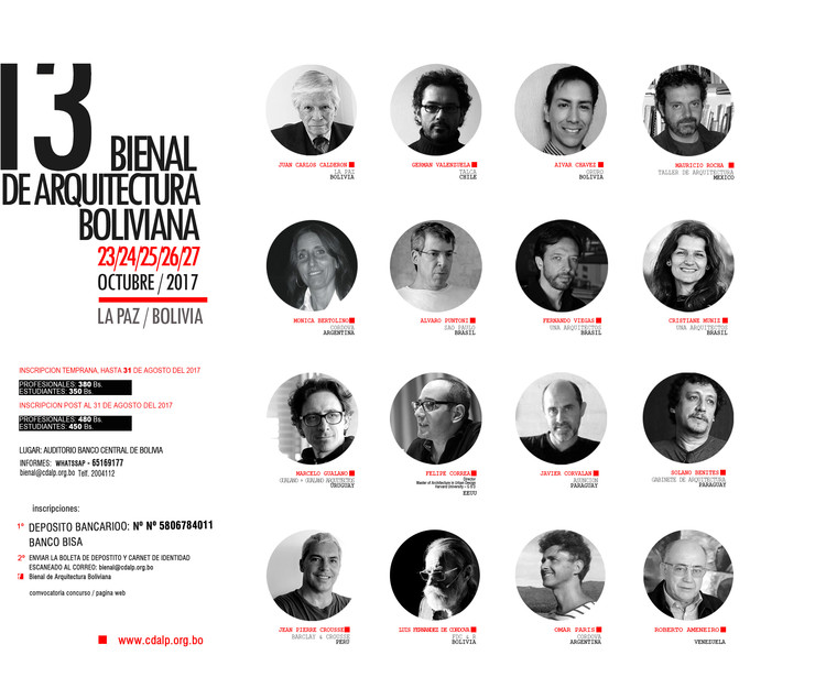 XIII Bienal de Arquitectura Boliviana