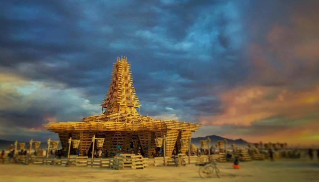 As estruturas mais impressionantes do festival Burning Man 2017