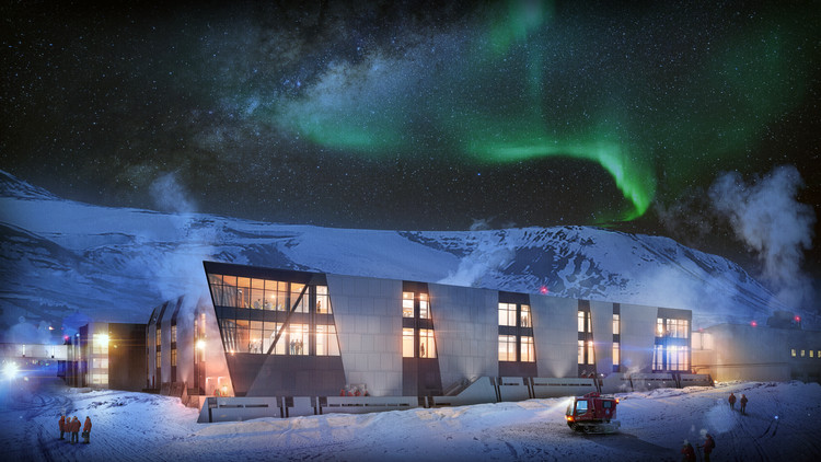 Antarctic Base McMurdo Station Receives Sustainable New Master Plan, © OZ Architecture