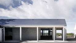 Courtyard extension to gairmscoil na bpiarsach rosmuc gaillimh paul dillon architects ross kavanagh