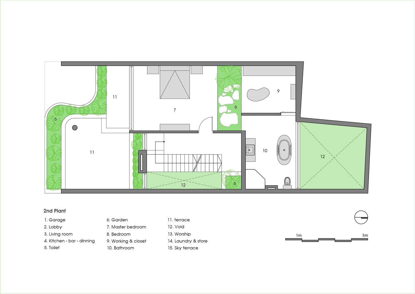 Gallery of V1 House / TNT architects - 35
