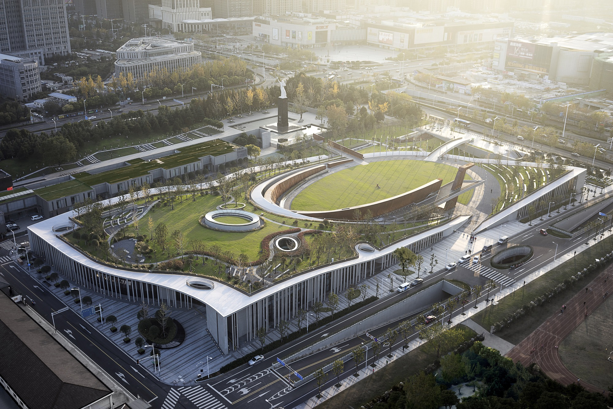 Victims Of Nanjing Massacre Memorial Hall / Architectural Design U0026 Research  Institute Of South China University