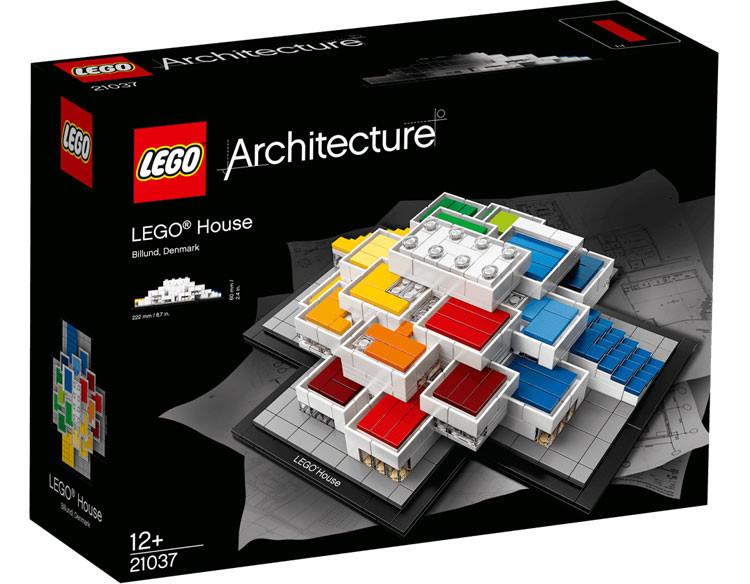 LEGO lança kit com o Centro de Experiências projetado pelo BIG, via LEGO