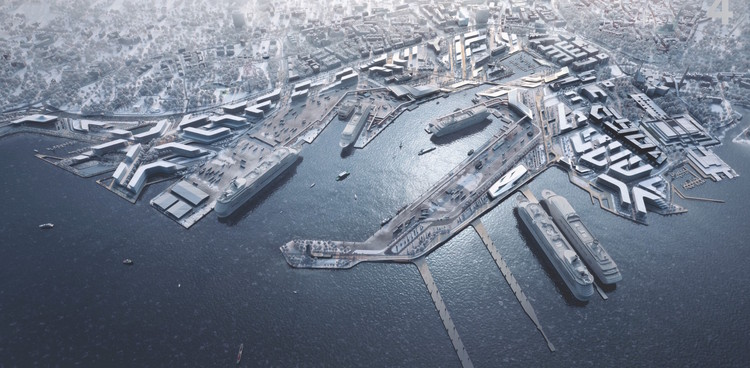 Zaha Hadid Architects Wins Competition for Port of Tallinn Masterplan in Estonia, Courtesy of Port of Tallinn / Zaha Hadid Architects