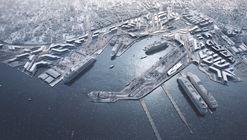 Zaha Hadid Architects gana concurso para el plan maestro del puerto de Tallin en Estonia