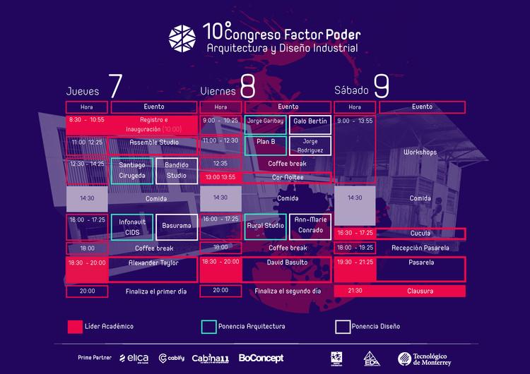 Conoce el line-up de la décima edición de Factor Poder: Congreso de Arquitectura y Diseño Industrial en Querétaro, Cortesía de Congreso Factor Poder