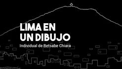 Lima en un dibujo   Exposición individual