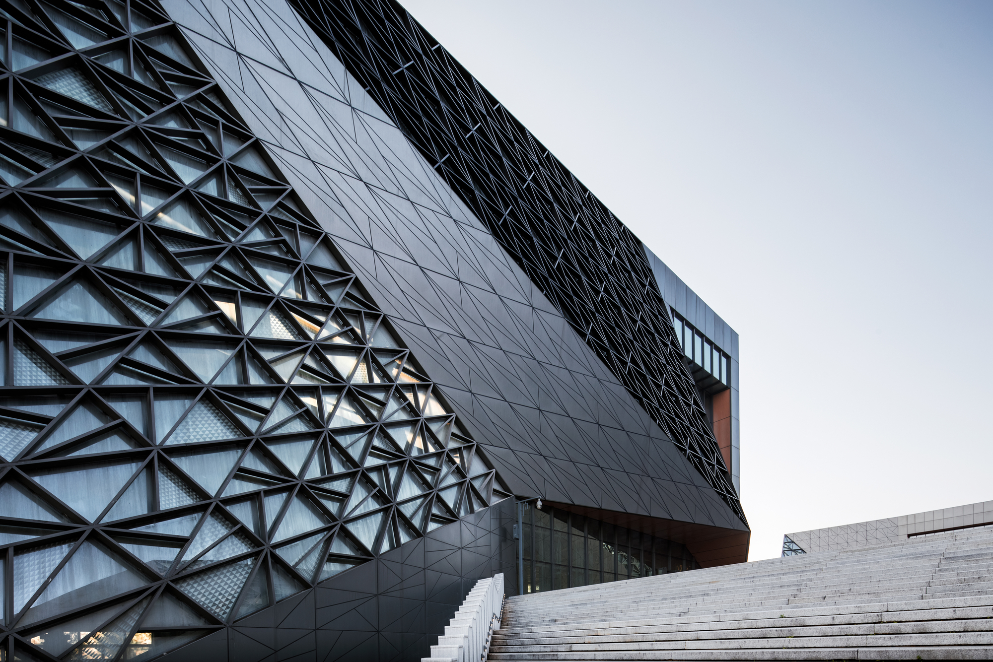 Gallery of bishan cultural and art center tanghua for Architect associates