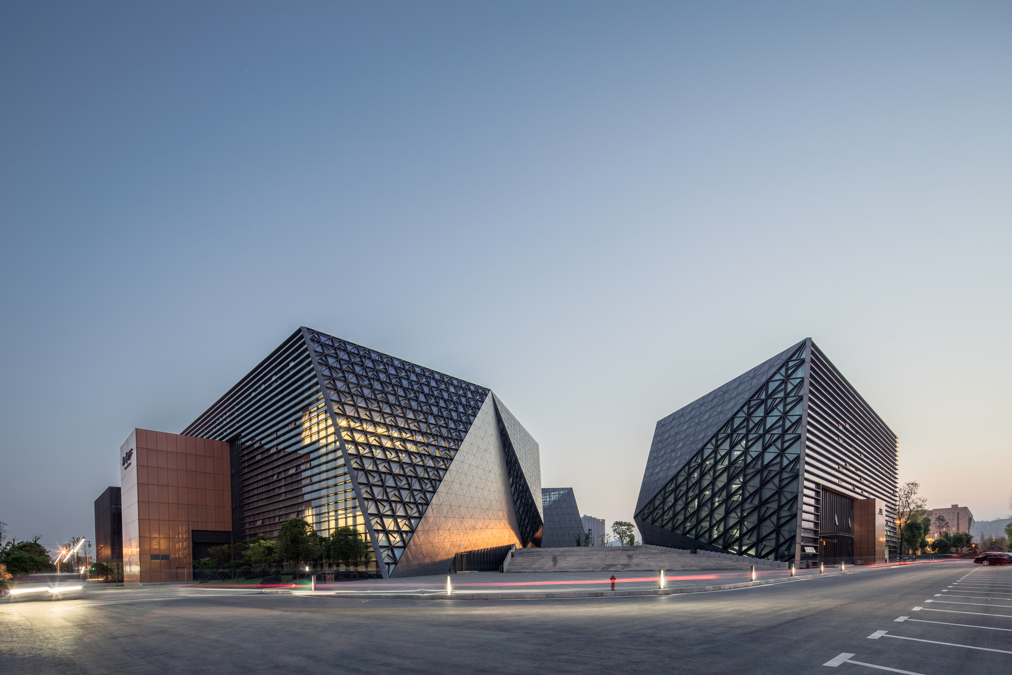 Bishan cultural and art center tanghua architect for Architect associates
