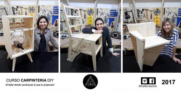 Curso Carpintería Básica | El taller donde construyes lo que tú propones, fotografías por Taller Aureo