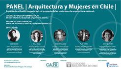 Panel: Arquitectura y Mujeres en Chile