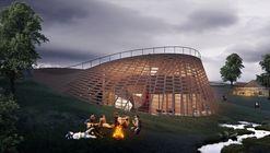 Art village arena bonfire  artists night fever moa