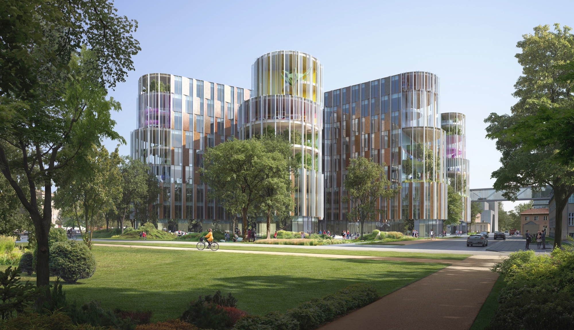 Architecture Exterior: 3XN Wins Competition For Copenhagen Children's Hospital