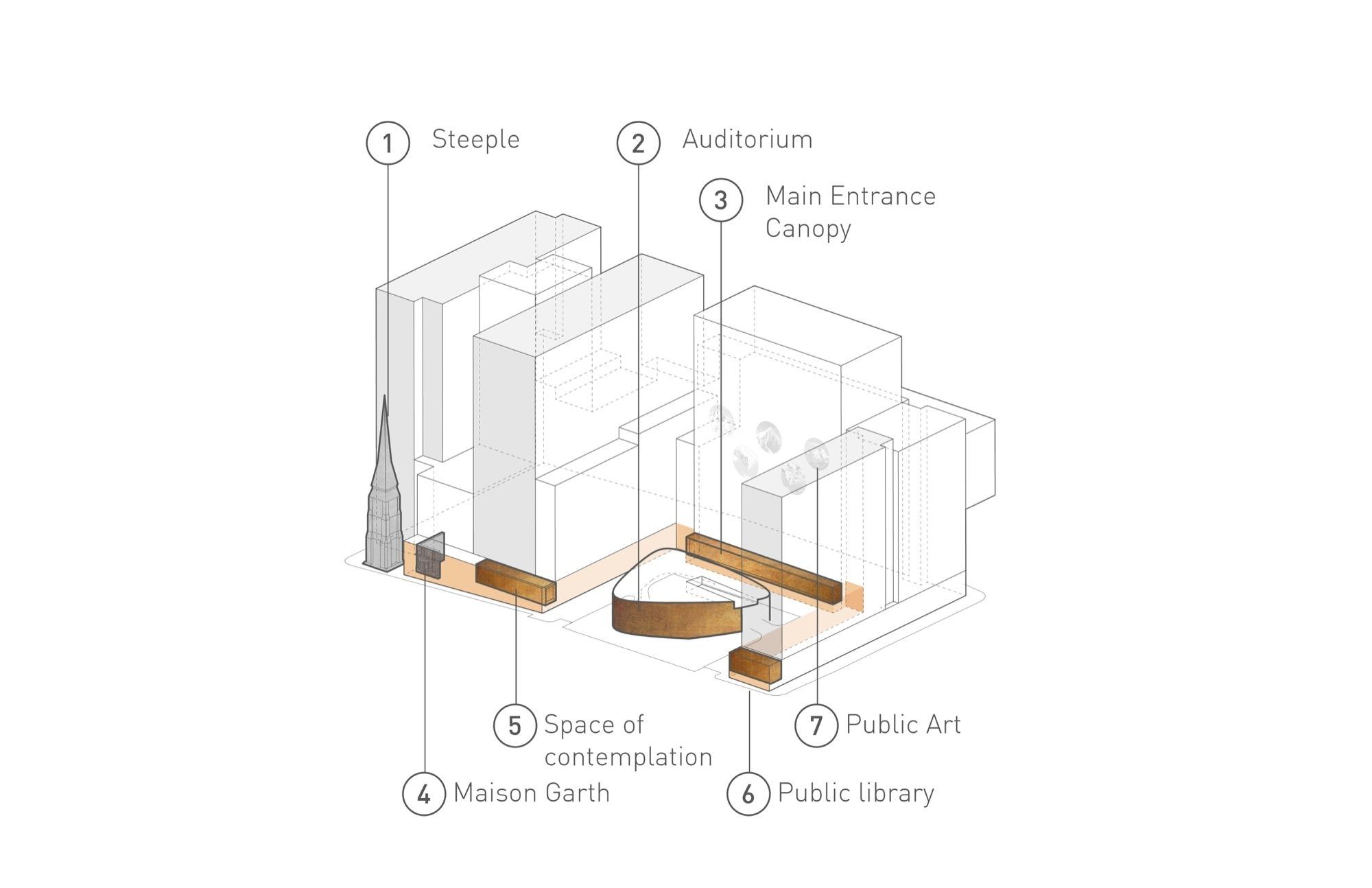 Gallery Of Centre Hospitalier De L Universit De Montr Al  # Schema De Meuble Dimension